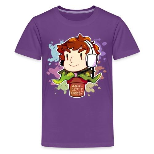 Plant Sticker (Kid's Premium) - Kids' Premium T-Shirt