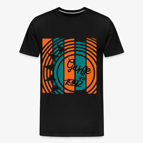 Men's exclusive Grunge since 1992 Premium T-shirt - Men's Premium T-Shirt