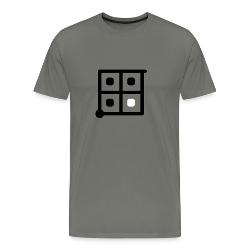 Witness [Black] - Men's Premium T-Shirt