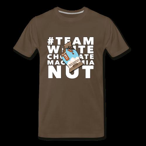 TEAM WHITE CHOCOLATE MACADAMIA NUT - Men's Premium T-Shirt