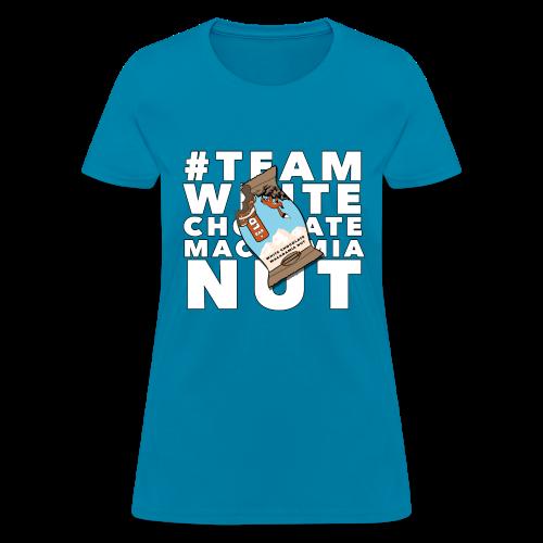 TEAM WHITE CHOCOLATE MACADAMIA NUT - Women's T-Shirt