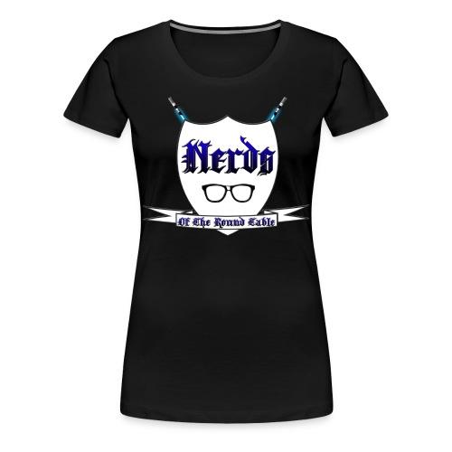Nerds of the Round Table 3X - Women's Premium T-Shirt