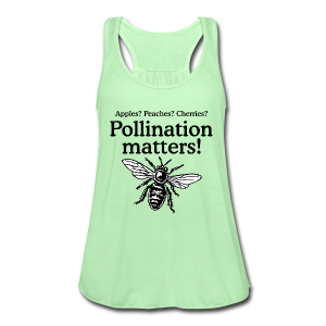 Pollination Matters Beekeeper Flowy Tank Top - Women's Flowy Tank Top by Bella