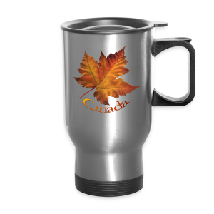 Canada Souvenir Travel Mug Canada Maple Leaf Mugs - Travel Mug