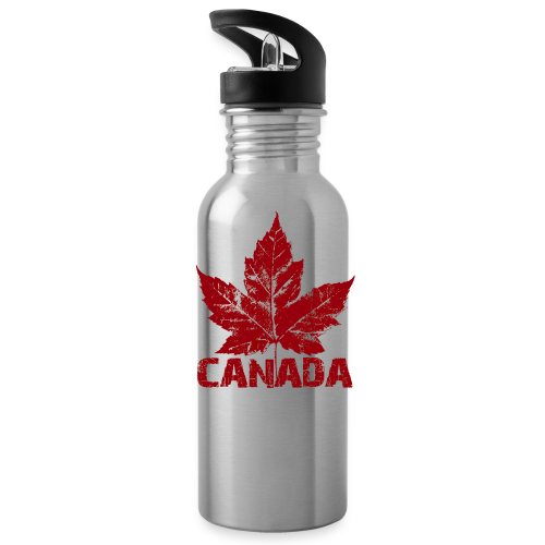 Canada Souvenir Travel Mug Cool Canada Maple Leaf Mugs  - Water Bottle