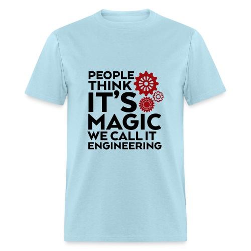 My profession is engineer - Men's T-Shirt