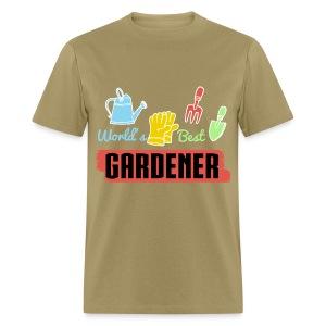 I love to do garden Work - Men's T-Shirt