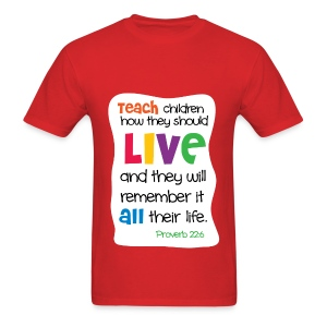 Love for the Teacher - Men's T-Shirt