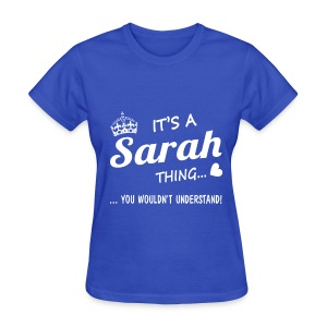 For the Sarah´s - Women's T-Shirt