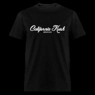 T-Shirts ~ Men's T-Shirt ~ Cali Kush (bw)
