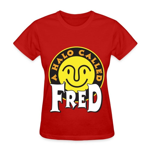 A Halo Called Fred  - Women's Shirt - Women's T-Shirt