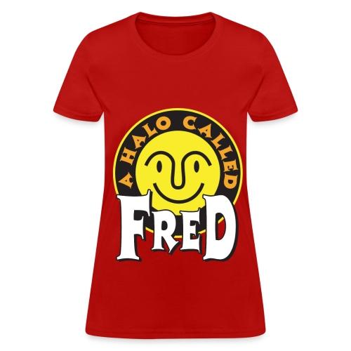 A Halo Called Fred  - Women's Shirt - Women's T-Shirt