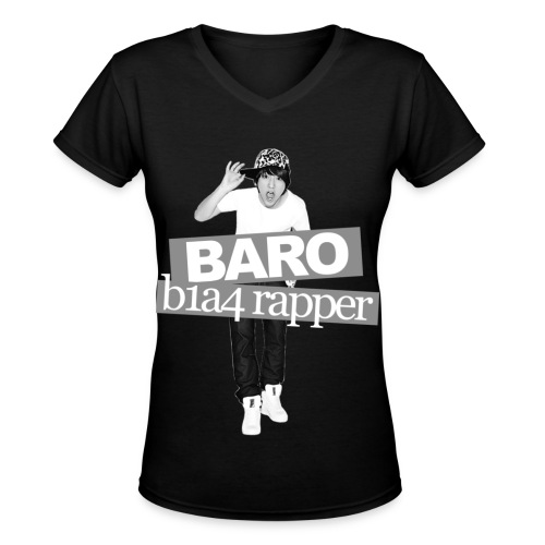 B1A4 001 (Baro) - Women's V-Neck T-Shirt