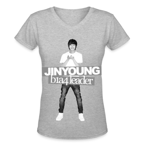 B1A4 001 (Jinyoung) - Women's V-Neck T-Shirt