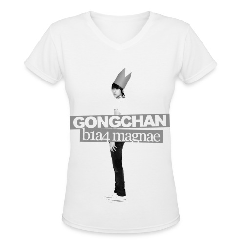 B1A4 001 (Gongchan) - Women's V-Neck T-Shirt