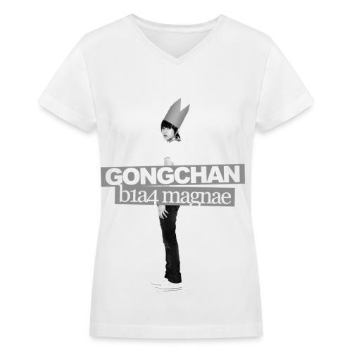 B1A4 001 (Gongchan) - Women's V-Neck T-Shirt
