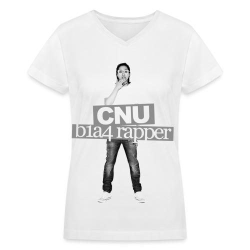B1A4 001 (CNU) - Women's V-Neck T-Shirt