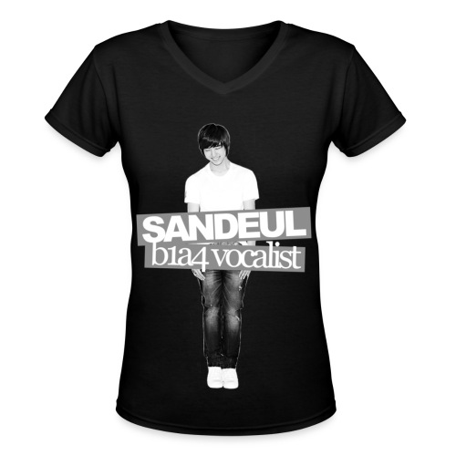 B1A4 001 (Sandeul) - Women's V-Neck T-Shirt