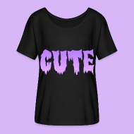 Creepy Cute Shirt - Women's Flowy T-Shirt