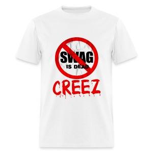 SWAG IS DEAD MEN'S STANDARD WEIGHT TEE - Men's T-Shirt