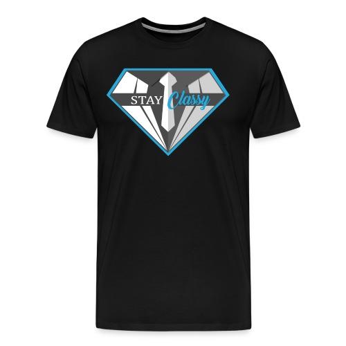 Black Stay Classy T-Shirt - Men's Premium T-Shirt
