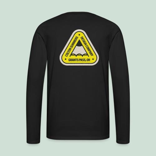 Bridge Pencil Long Sleeve Tee - Men's Premium Long Sleeve T-Shirt