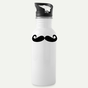 Mustache Water Bottle - Water Bottle