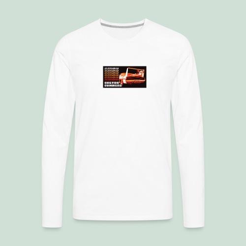 Daytona Long Sleeve Tee - Men's Premium Long Sleeve T-Shirt