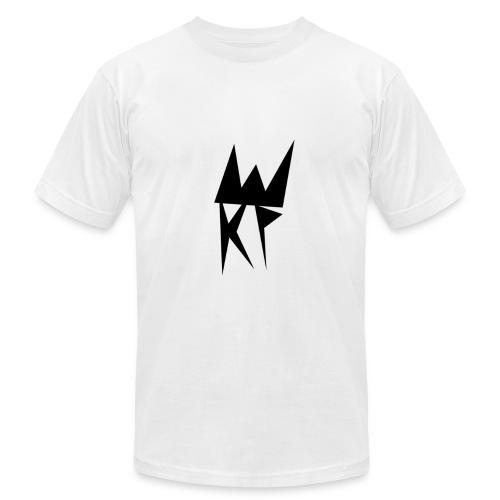 KP Basic Logo T Shirt (White) - Men's Fine Jersey T-Shirt