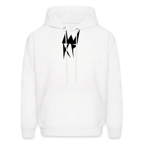 KP Basic Logo Hoodie (White) - Men's Hoodie