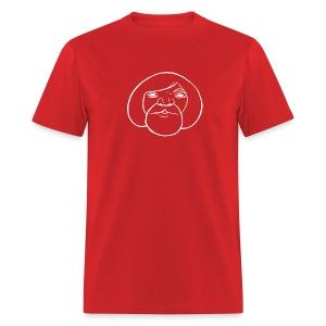 WHITE ECHO FOR DARK-COLORED T-SHIRTS - Men's T-Shirt