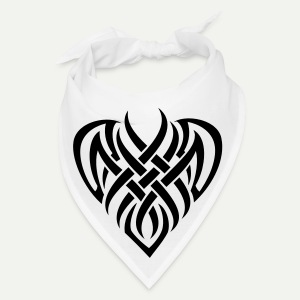 Tribal Heart Bandana - Bandana