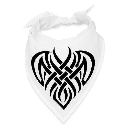 Tribal Heart Bandana - Bandana