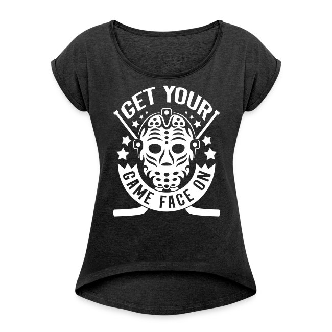 f2d1863acb1 Two Five & Ten Hockey Apparel | Get Your Game Face On Womens Rolled ...