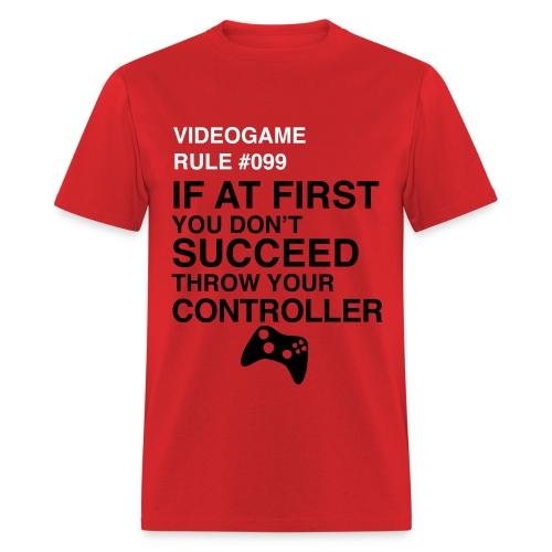 Video Game Rule - Men's T-Shirt