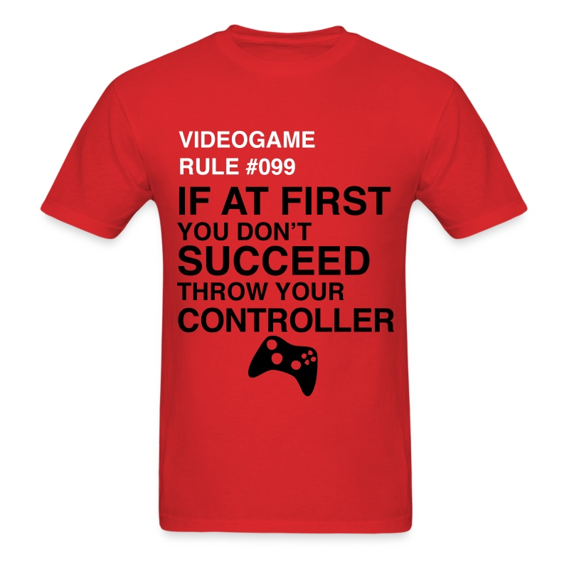 Video Game Rule - Men's T-Shirt
