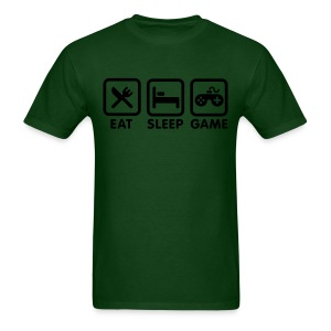 Eat, Sleep, Game - Men's T-Shirt