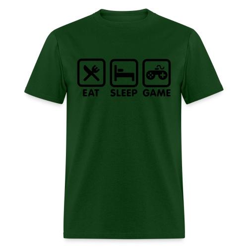 Eat, Sleep, Game - Men's T-Shirt