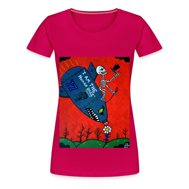 Bombs away - Women's Premium T-Shirt