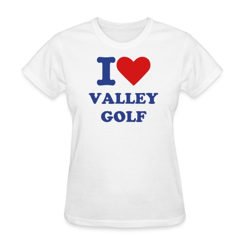I Heart Valley Golf - Women's T-Shirt