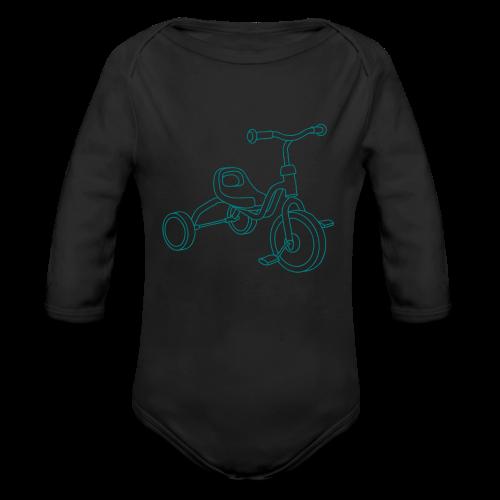Tricycle - Organic Long Sleeve Baby Bodysuit
