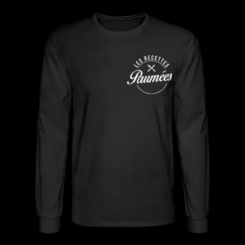Chandail à manches longues noir - Homme - Men's Long Sleeve T-Shirt