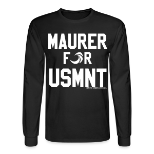 MAURER FOR USMNT - Long Sleeve - Men's Long Sleeve T-Shirt
