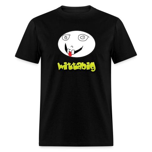 Wittabig Face Men's Tee - Men's T-Shirt