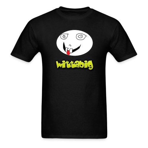 Wittabig Face Men's Tee - Men's T-Shirt