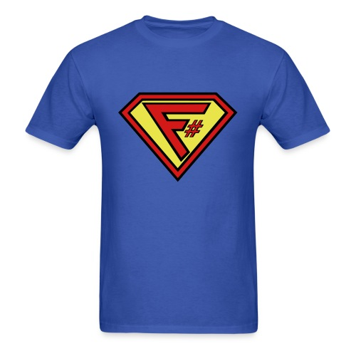 F# Hero Man - Men's T-Shirt