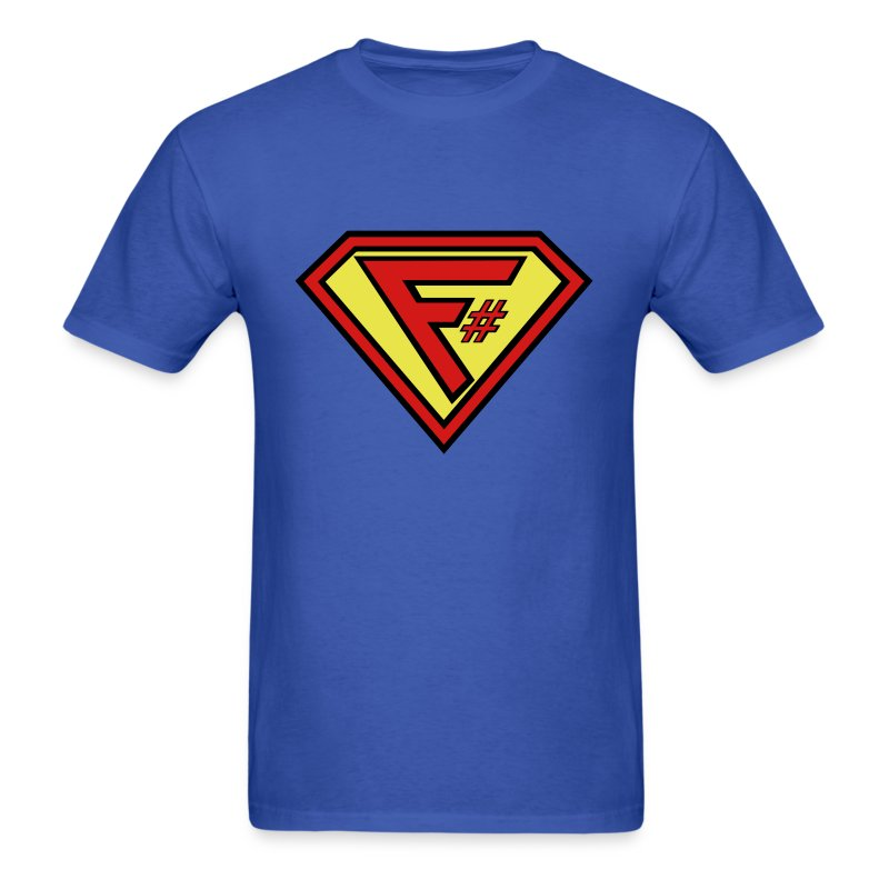 F# Hero Man - Men's T-Shirt