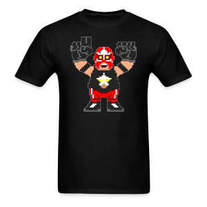 8 Bit Big Train - Men's T-Shirt