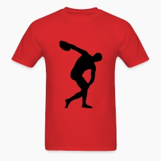 discus thrower, track and field T-Shirts
