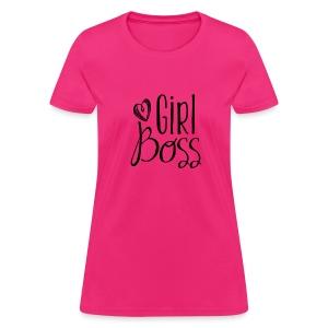 Girl Boss - Women's T-Shirt